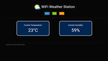 WiFi Weather Station IOT App